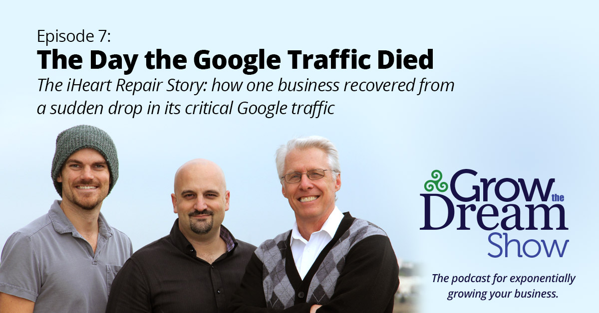 #7 The Day the Google Traffic Died: The iHeart Repair Story