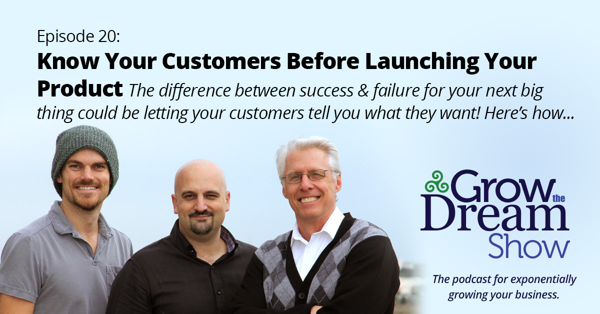 #20 Know Your Customers Before Launching Your Product