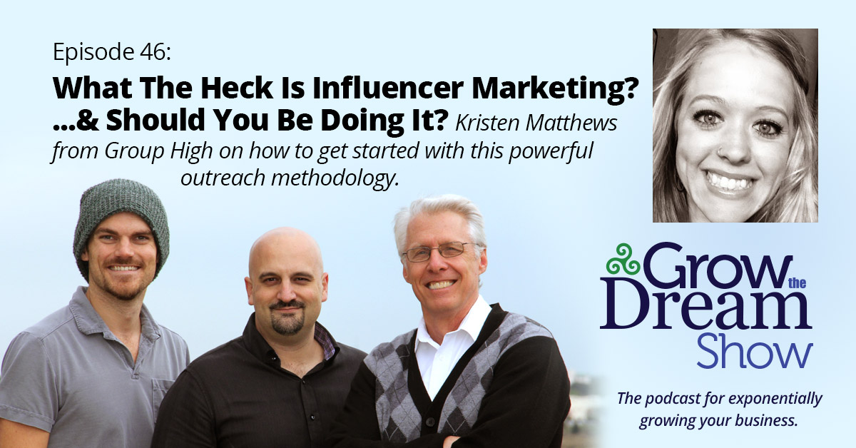 #46 What the Heck is Influencer Marketing? And Should You Be Doing It?