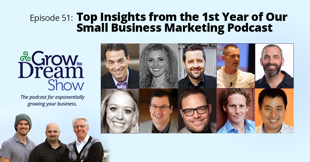 #51 Top Insights from the 1st Year of Our Small Business Marketing Podcast
